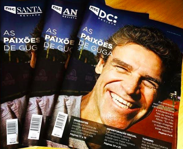Diário Catarinense and other NSC titles: weekly magazine format