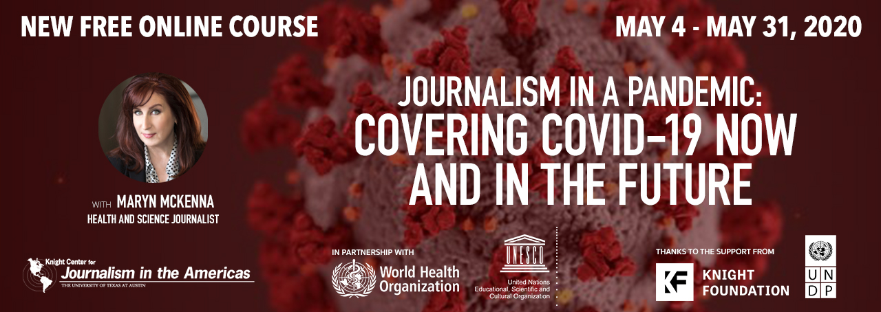 Journalism in a pandemic: Covering COVID-19 now and in the future
