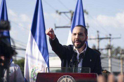 Presidente de El Salvador, Nayib Bukele. Foto: Carlos Barrera/El Faro. (Cortesía.)