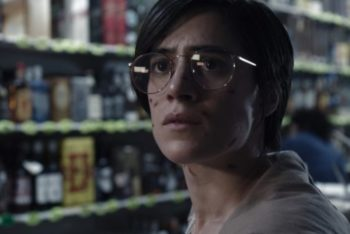 A still of reporter Gabriela, one of the main characters from the Netflix series Tijuana (Netflix)