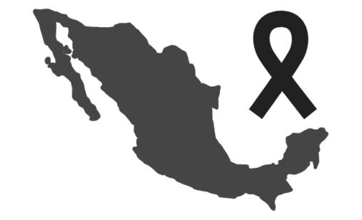 Mexico en luto
