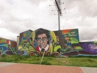 Mural of Jaime Garzón