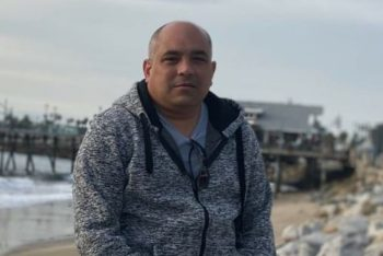 Journalist José Ramón Ramírez Pantoja in Redondo Beach, Los Angeles. (Courtesy)