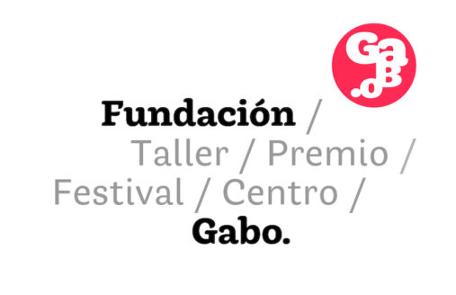 The new logo of the Gabo Foundation, formerly FNPI