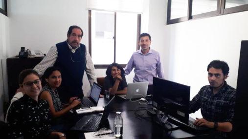 The team at Chequea Bolivia