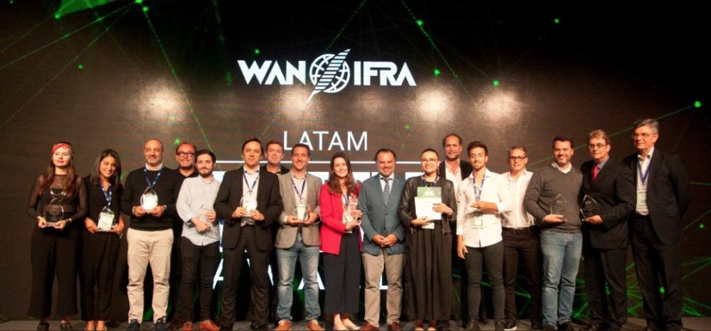 Ganhadores dos 2019 Digital Media LATAM Awards (Foto: WAN-IFRA)