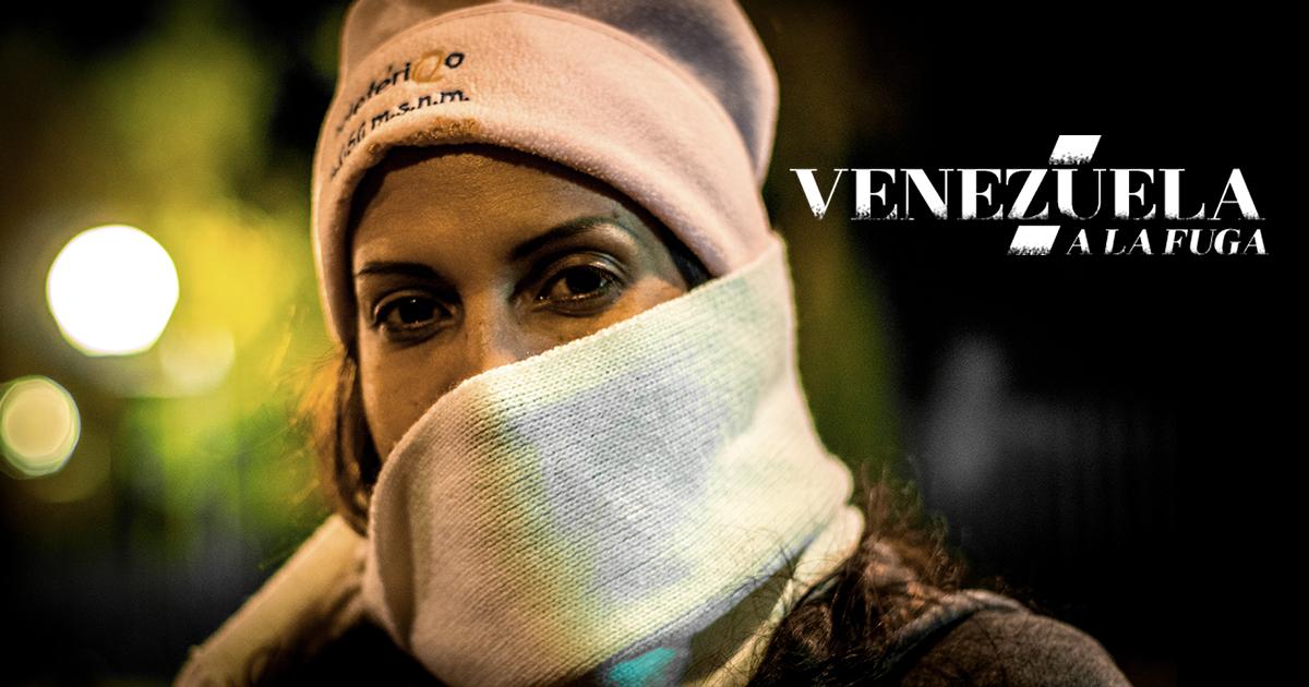 """""""Venezuela on the run"""" (Screenshot)"""