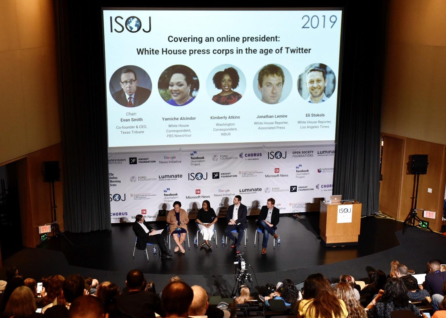 ISOJ Covering Online President Panel