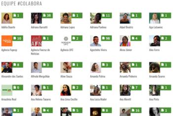 Estes são apenas alguns dos colaboradores que escrevem para o Projeto #Colabora. (Reprodução)