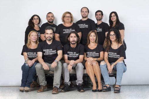 El equipo del Centro de Periodismo Investigativo de Puerto Rico (Cortesía)