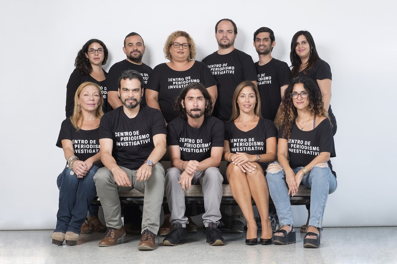 The team at the Center for Investigative Journalism in Puerto Rico (Courtesy)