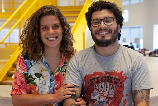 Jornalistas Maria Vitória Ramos e Luiz Fernando Toledo, do Fiquem Sabendo (Cortesia).