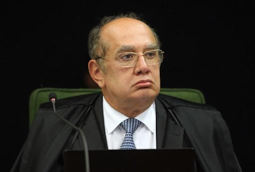 O ministro do STF Gilmar Mendes, que teve ganho de causa no STJ em processo contra o jornalista Rubens Valente. (Foto: Nelson Jr./SCO/STF)