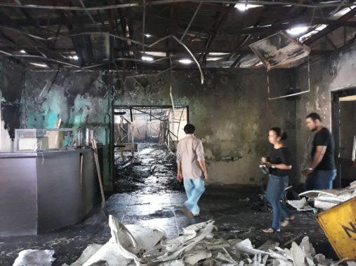 Incendio Radio Nicaragua 2018