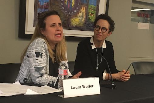 Laura Weffer fundó el sitio de noticias Efecto Cocuyo, junto con Luz Mely Reyes y Josefina Ruggiero, en 2015.