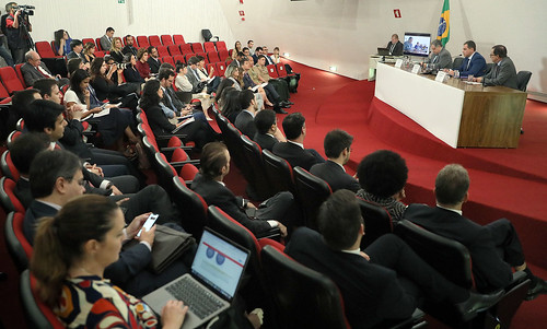 Meeting of the Advisory Council on Internet and Elections of the TSE in Brasília on Oct. 22. (Photo: Nelson Jr. / Ascom / TSE)
