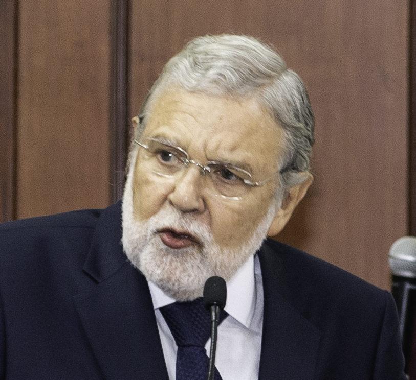 President of the Constitutional Court of Peru, Ernesto Blume (Photo: Juan Manuel Herrera/OEA via Flickr]
