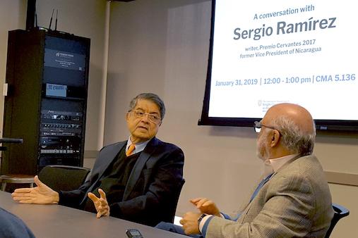 Sergio Ramírez Foto- Centro Knight