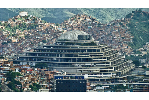 The Helicoide building in Caracas, where Billy Six is being held (Damián D. Fossi Salas [CC BY-SA 2.0 (https://creativecommons.org/licenses/by-sa/2.0)], via Wikimedia Commons)