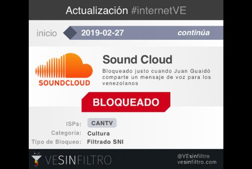 Sound Cloud Blocked