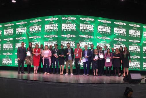 ¡Aquí todos los ganadores de los #PremiosDML18! Momento memorable de esta #DML18.