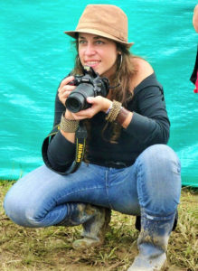 Andrea Aldana is specialized in covering armed conflicts and the mafia in Colombia. Photo: courtesy