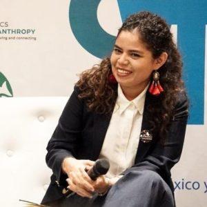 Julia Gavarrete de El Salvador. Foto de Twitter