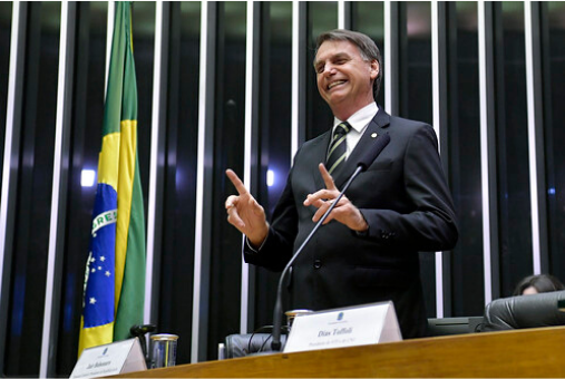 President-elect of Brazil, Jair Bolsonaro