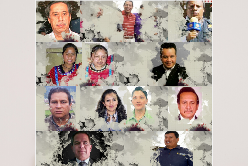 Reporteras en Guardia's first project is an online memorial of the journalists killed or disappeared in Mexico.