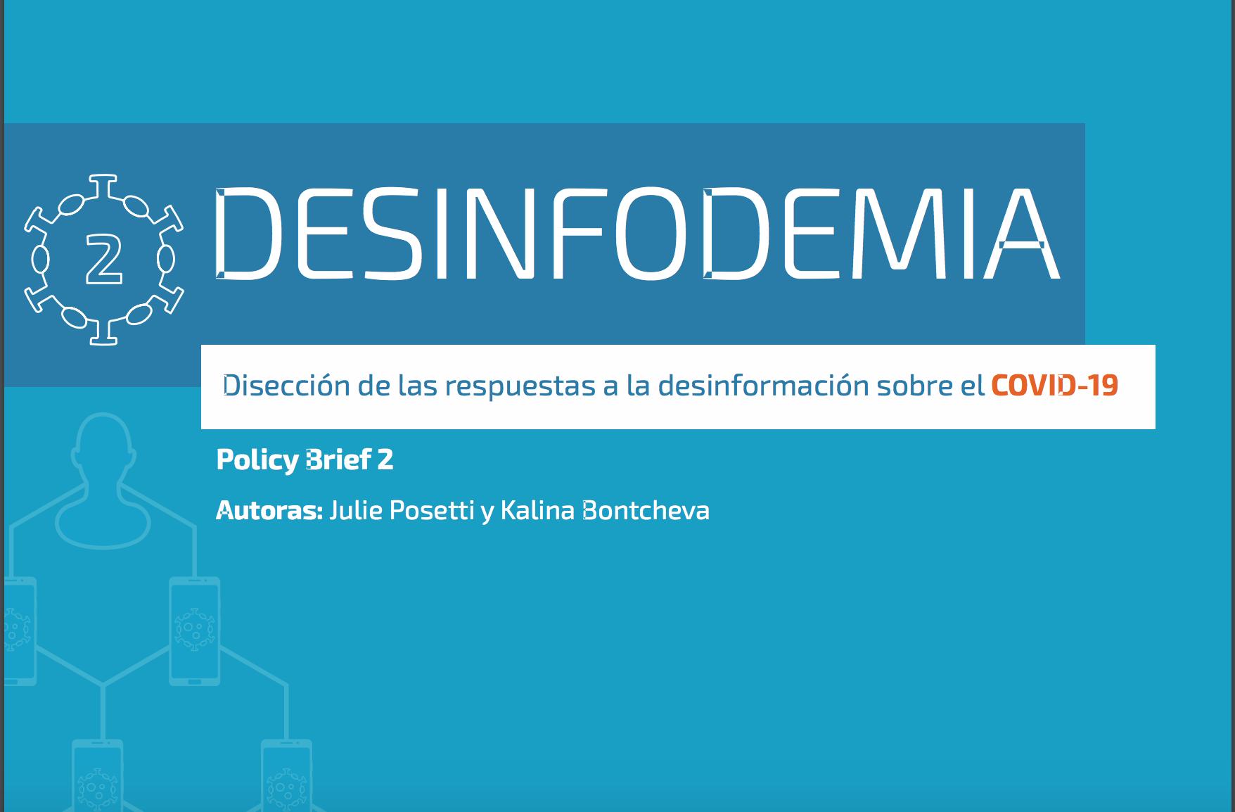 Desinfodemia COVID 19