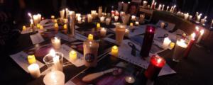 Homenagem a jornalistas mortos no mexico