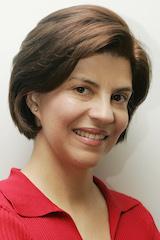 Foto da jornalista angela pimenta