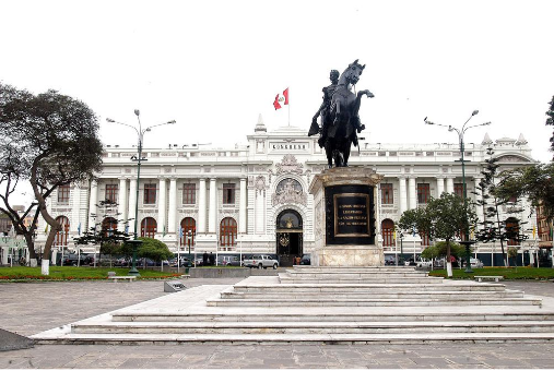 Congreso de la República del Perú, Lima, Peru [CC BY 2.0 (creativecommons.org/licenses/by/2.0), via Wikimedia Commons.