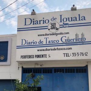 fachada do Diario de Iguala