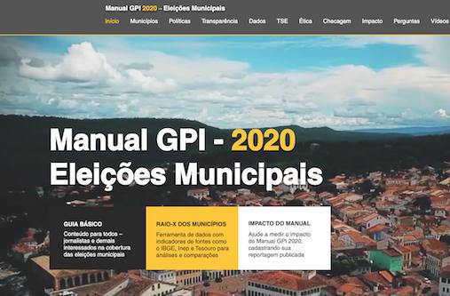 Página principal Manual elecciones Brasil