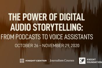 Audio Storytelling MOOC Featured Image