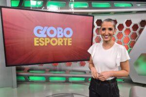Alice Bastos Neves, periodista de Brasil, en el estudio