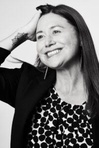 Vice-diretora da IWMF, Nadine Hoffman, responsável pela área de assédio e ataques online