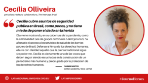 #JOURNOHEROES Cecilia Olliveira ESP