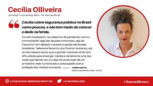 #JOURNOHEROES Cecilia Olliveira PT