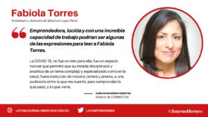 #JOURNOHEROES FABIOLA TORRES ESP