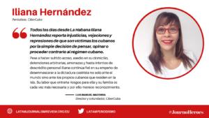 #JOURNOHEROES Iliana Hernández ESP