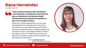 #JOURNOHEROES Iliana Hernández PT
