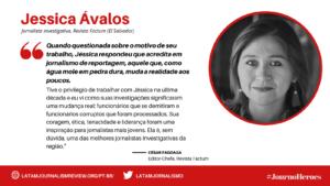 #JOURNOHEROES Jessica Avalos PT