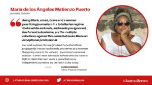 #JOURNOHEROES MARIA MATIENZO ENG