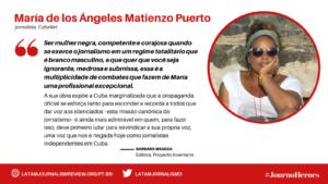 #JOURNOHEROES Maria Matienzo PT
