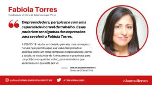 Fabiola Torres #JournoHeroes PT