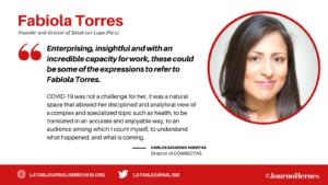 Fabiola Torres #JournoHeroes