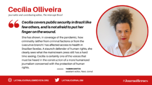 #JournoHeroes Cecilia Olliveira ENG