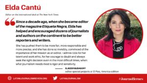 #JournoHeroes ELDA CANTU ENG